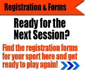 Register for the next sports session now!