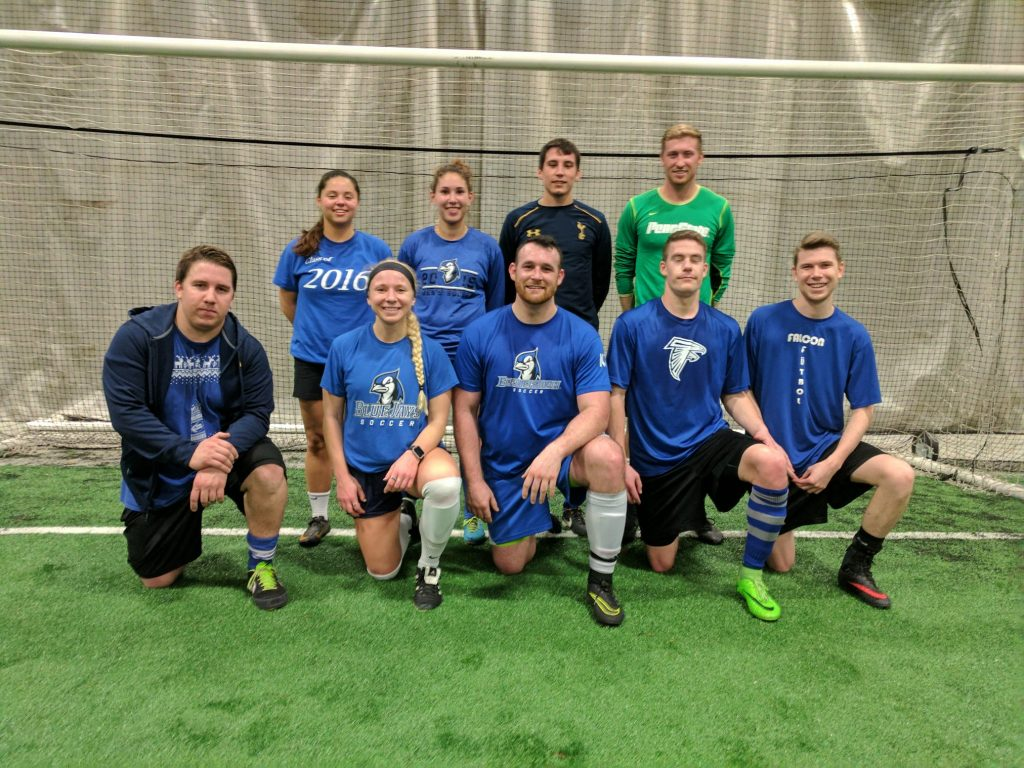 HASBEENS - COED HIGHER LEAGUE CHAMPS - WINTER 2016