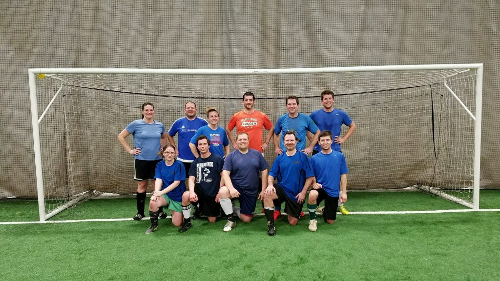 "COED ""C"" DIVISION CHAMPS - BAKER UNITED"