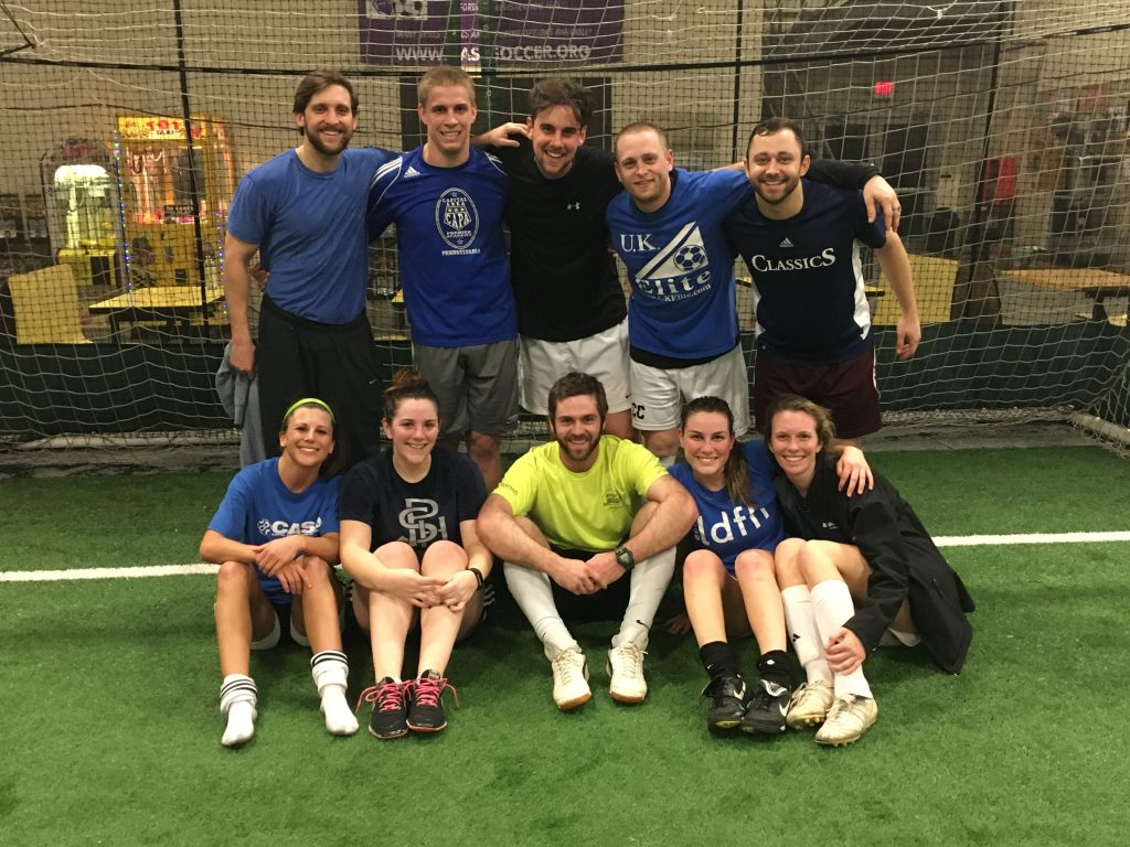 "COED ""A"" DIVISION CHAMPS - HASBEENS"