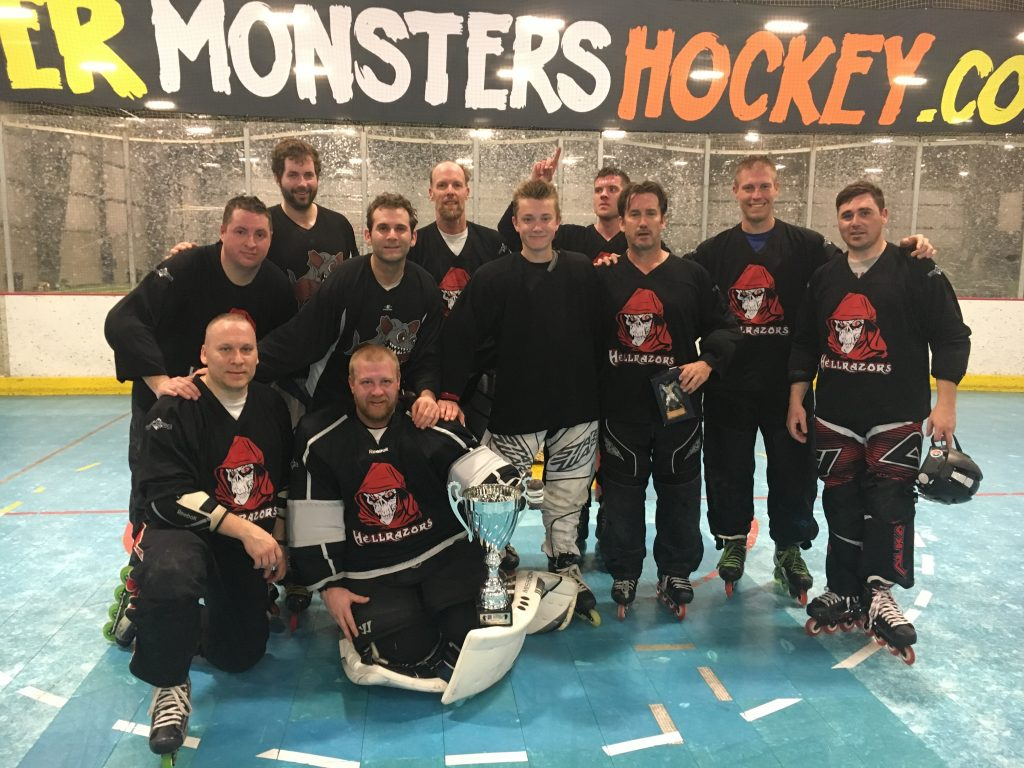 Winter 2017 D West Champs - Hellrazors MVP - Pat Coonelly